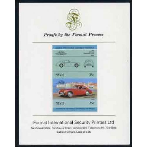 Nevis 1985 CISITALIA COUPE mperf on FORMAT INTERNATIONAL PROOF CARD