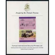 Nevis 1985 PONTIAC mperf on FORMAT INTERNATIONAL PROOF CARD