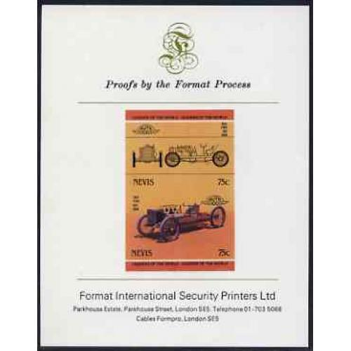 Nevis 1985 FORD 999 mperf on FORMAT INTERNATIONAL PROOF CARD