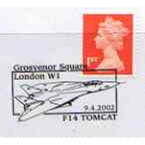 GB Postmark - 2002 cover with special TOMCAT cancel