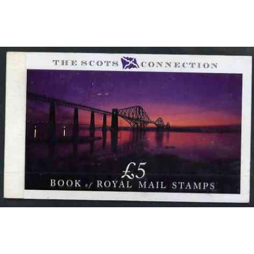 GB 1989  SCOTS CONNECTION Prestige booklet complete & fine