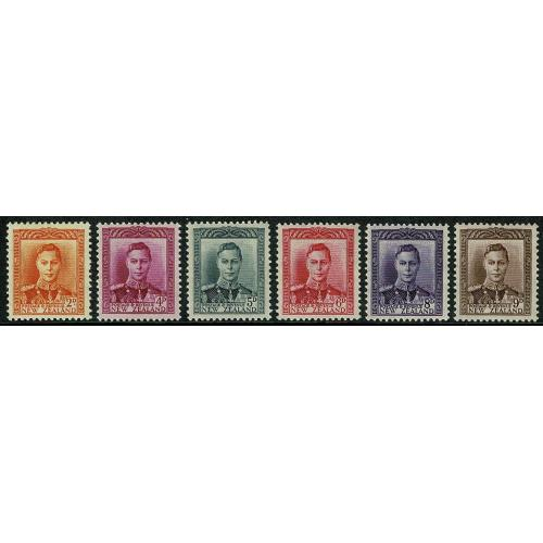 1947 low values 2d to 9d set of 6 values. SG 680-685