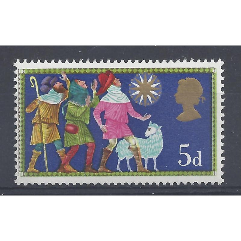1969 XMAS 5d BLACK COLOUR SHIFT