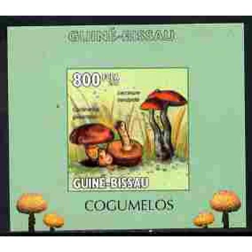 Guinea-Bissau 2010  FUNGI individual deluxe sheet mnh