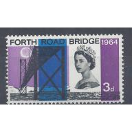 1964 FORTH RD BRIDGE 3d VIOLET COLOUR SHIFT - LEFT